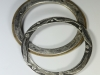 Sterling and Sterling with Bronze Bracelets