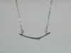 Sterling Twig Necklace
