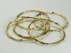 Bronze Bangle Bracelets