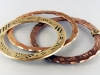 Bronze and Copper Bangles
